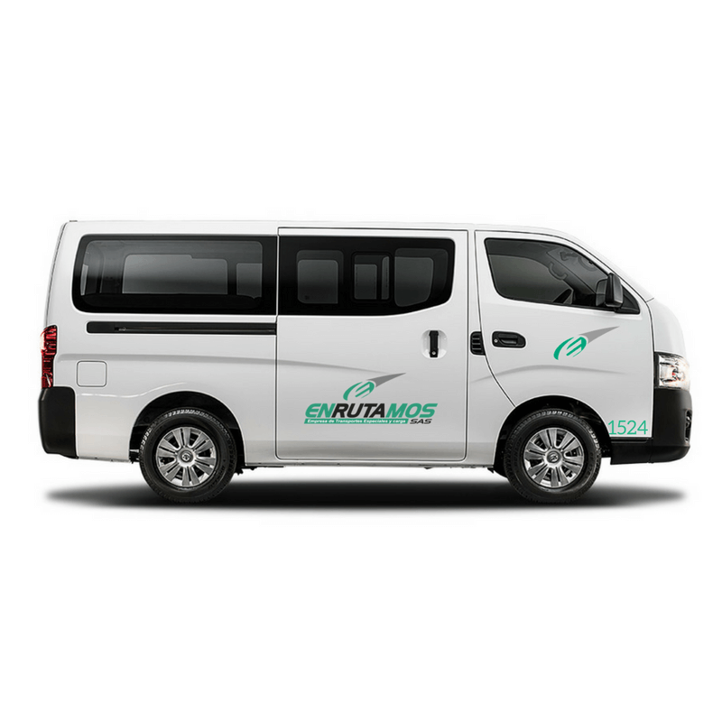 Transporte de 5 a 14 pasajeros