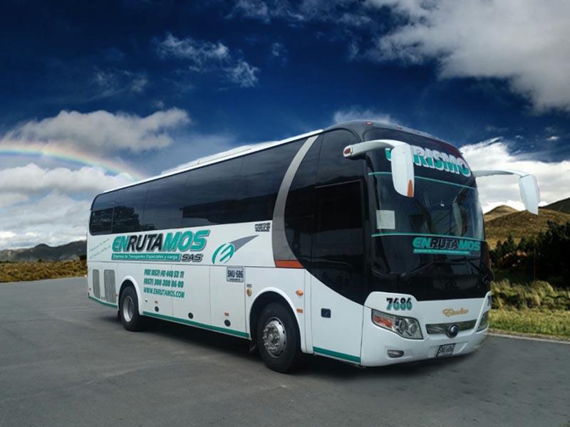 Nuestros buses Enrutamos